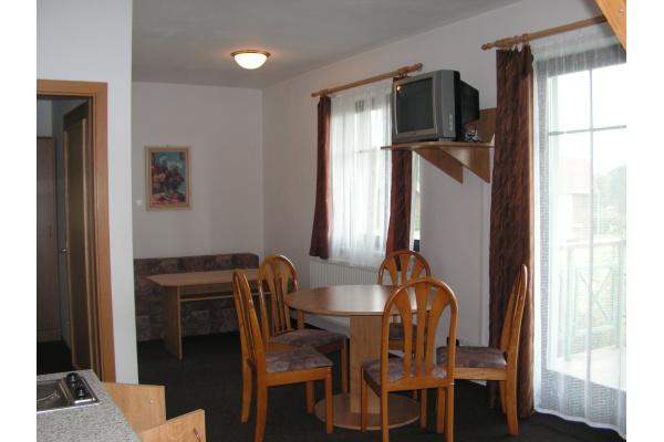 Ubytování Český ráj - Apartmány pod Troskami - kuchyň